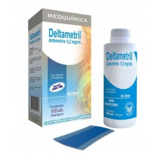 DELTAMETRINA SH 100ML - DELTAMETRIL