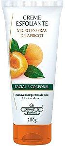 Creme Esfoliante Facial Flores e Vegetais Apricot 200g