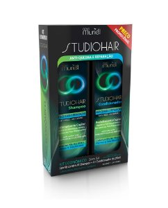 Kit Muriel Studio Hair Sh e Cond Antiquebra Reparação 250ml