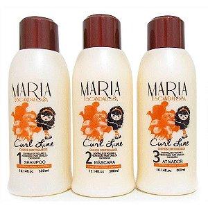 Maria Escandalosa Curl Line Cachos Controlados (Kit c/03)