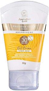 Protetor Solar Facial  Australian Gold Gel Creme FPS30 50g