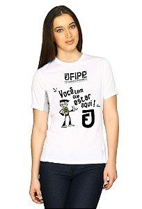 Camiseta Unoeste - FIPP 2016 - Cores Unissex