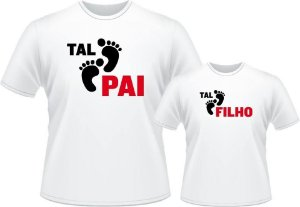 Camiseta Tal Pai, Tal Filho - Passos