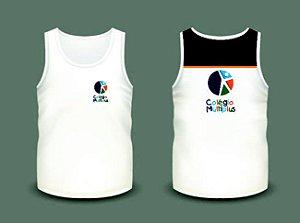 Camiseta escolar Multiplus - (regata) - Adulto e Infantil