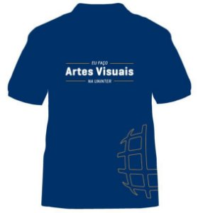 CAMISETA UNINTER - Artes Visuais