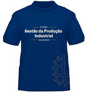 CAMISETA UNINTER - Gestão de Procução Industrial