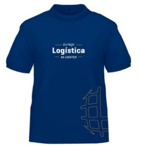 CAMISETA UNINTER - Logistica