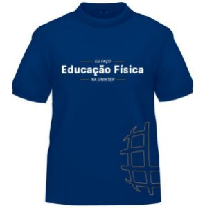 CAMISETA UNINTER - Educação Física