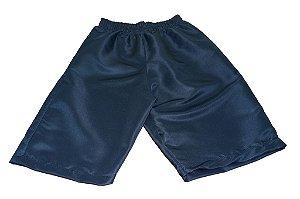 Shorts Tactel - Azul Marinho - Colégio Esquena Único