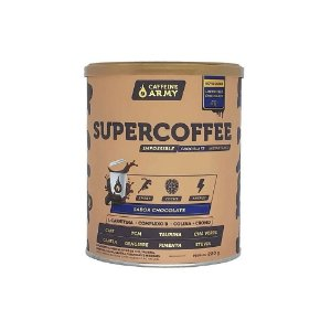 SUPERCOFFEE CHOCOLATE CAFFEINE ARMY - 220G