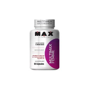 MULTIMAX FEMME MAX TITANIUM - 60 CAPS