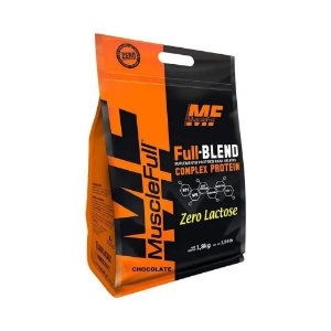 FULL-BLEND COMPLEX PROTEIN ZERO LACTOSE MUSCLEFULL - 1,8KG