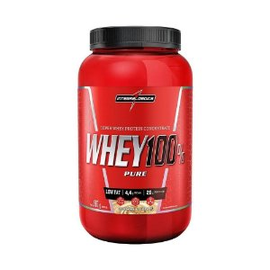WHEY 100% PURE INTEGRALMEDICA - 900G