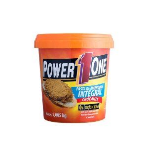 PASTA DE AMENDOIM INTEGRAL CROCANTE POWER ONE - 1KG