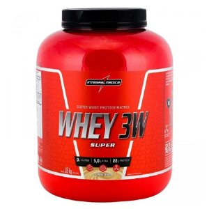 SUPER WHEY 3W INTEGRALMEDICA - 1,8KG