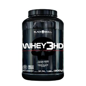WHEY 3HD BLACK SKULL - 900G