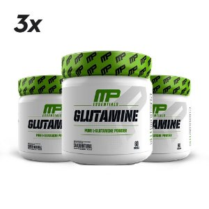 COMBO - 3x GLUTAMINE MUSCLE PHARM - 300G