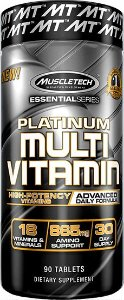 PLATINUM MULTI VITAMIN MUSCLE TECH - 90 TABLETS