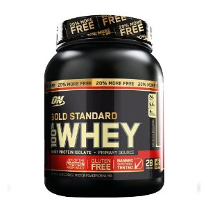 WHEY GOLD STANDARD 100% OPTIMUM NUTRITION - 1,1KG