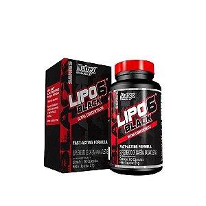 LIPO 6 BLACK NACIONAL ULTRA CONCENTRADO NUTREX - 60 CAPS