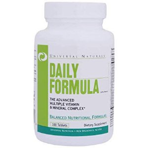 DAILY FORMULA UNIVERSAL - 100 TABLETS