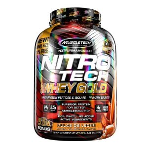 NITRO TECH WHEY GOLD MUSCLETECH - 2,5KG