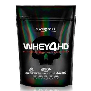 WHEY 4HD REFIL BLACK SKULL - 2,2KG