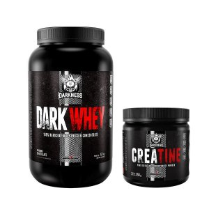KIT DARKNESS - DARK WHEY 900G + CREATINE 350G INTEGRALMEDICA