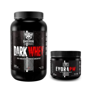 KIT DARKNESS - DARK WHEY 1,2KG + EVORA 150G