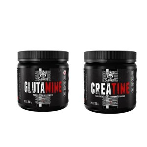 KIT DARKNESS - GLUTAMINE 350G + CREATINE 350G