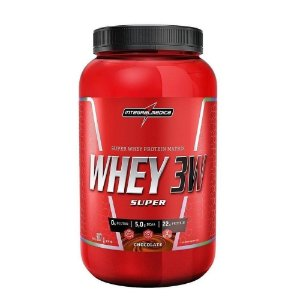 SUPER WHEY 3W INTEGRALMEDICA - 900G