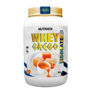 WHEY GREGO ISOLATE NUTRATA - 900G