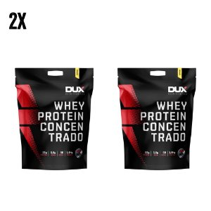 COMBO - 2x WHEY PROTEIN CONCENTRADO DUX (3,6KG TOTAL)