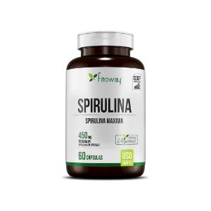 SPIRULINA FITOWAY - 60 CAPS