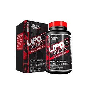 LIPO 6 BLACK NACIONAL ULTRA CONCENTRADO NUTREX - 120CAPS