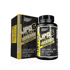 LIPO 6 BLACK INTENSE  NUTREX - 120 CAPS
