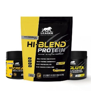 KIT LEADER 2 - HI BLEND 1,8KG + HI CREATINE 150G + HI GLUTA 150G