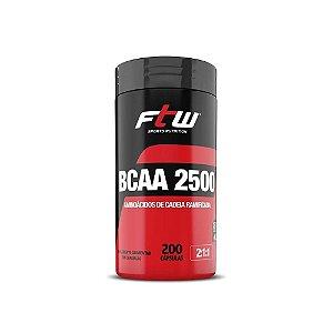 BCAA 2500 FTW - 200 CAPS
