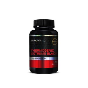 THERMOGENIC EXTREME BLACK PROBIOTICA - 120 CAPS