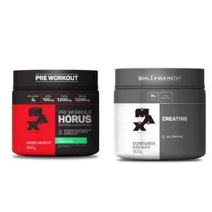 KIT MAX 7 - HORUS 300G + CREATINE 300G