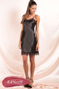 Vestido Late Night Preto