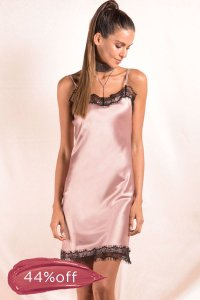 Vestido Late Night Rosé