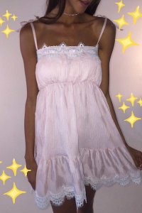 Vestido Like a Dream Rosa