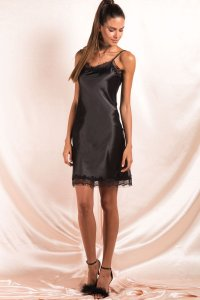 Vestido Late Night Preto + Choker Fancy