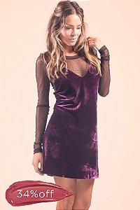 Vestido Purple Rain