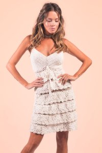 Vestido Forever Young Off White