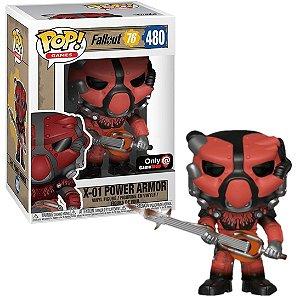 Funko Pop Fallout 76: X-01 Power Armor #480 Gamestop Exclusive