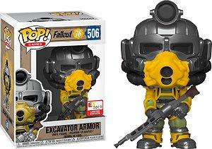 Funko Pop Fallout 76: Excavator Armor #506 E3 2019 Exclusive