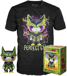 Funko POP and Tee Dragon Ball Z: Perfect Cell Metallic Gamestop Exclusive
