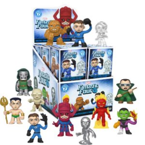Funko Mystery Minis - Fantastic Four Collection